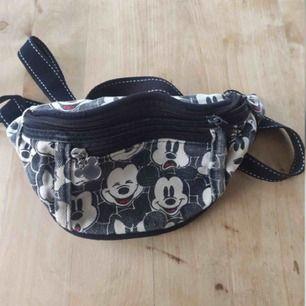 Vintage Musse pigg-väska.  Disney Mickey Mouse. Normalt begagnat skick