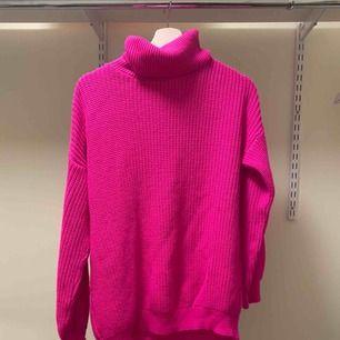 Rosa stickad tröja, super mysig från ivyrevel