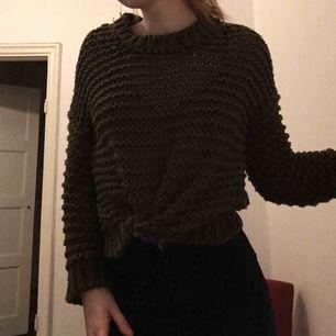 Oversized stickad tröja