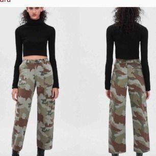 Camo-pants från Zara! Kostade 700kr i affär!