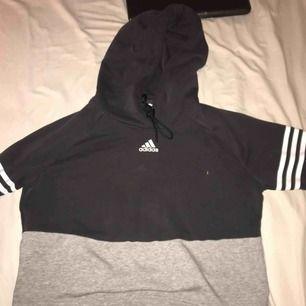 En jättefin lite oversized hoodie, väldigt fin och ser ut som ny
