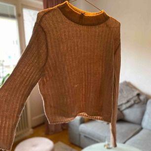 Stickad tröja från hm Strl S