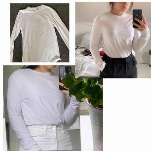 Enkel vit tröja från hm i bra skick! Köparen står för frakt