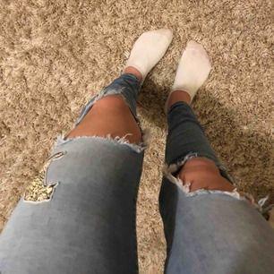 Jeans från Zara med en 🐆!! Köparen står för frakten
