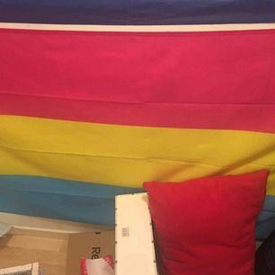 två jätte fina flaggor som är köpta från QX shop. pansexuella flaggan kostade 79kr och genderfluid flaggan kostade 89kr! köp en för 50kr eller båda för 100kr! :) frakt inkluderas inte i priset🏳️🌈🥰