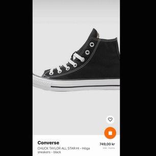 Nya converse, använda en gång. Möts gärna upp i Stockholm