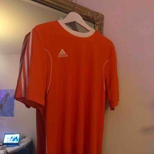 Orange adidas t shirt!