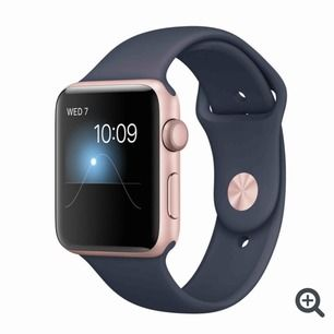 Säljer min apple watch series 2, den är repig på skärmen men funkar super. Har endast de lilla bandet kvar. Laddare följer med o frakt tillkommer.