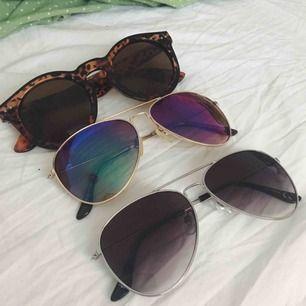 solglasögon 20kr/st eller alla för 50💕 gratis frakt på dessa🥰