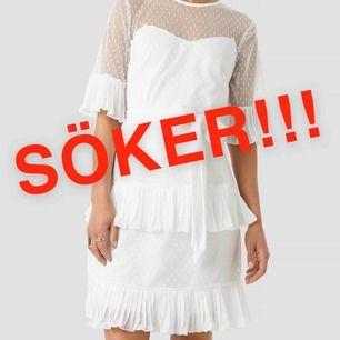 Gör ett desperat försök att hitta någon som har en sån här klänning från NA-KD (trendyol) hemma i storlek 36 (eller 38) som är sugen på att sälja den. Hör av dig isåfall, help a girl out:*