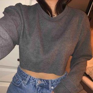 Croppad sweatshirt från Zara❤️