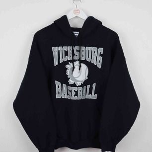 Skit snygg vintage baseball college hoodie. Pm för info!