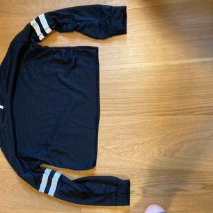 Helt oanvänd tröja i strl M, men är liten i storleken så slanke xs/s. Köparen står för frakten= 11kr