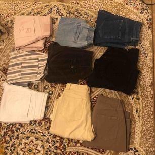 Så många jeans till salu!!!! Manchester mm.. säljs billigt! Först till kvarn 💜
