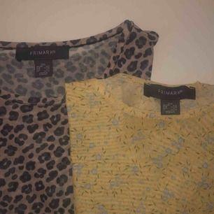 Två mesh t-shirts från primark, båda ingår i priset. Ena är i storlek xs och den andra i xxs men jag märker ingen skillnad på storlekarna. Säljer då jag inte använt dem så mycket. Frakten ingår i priset. 💓