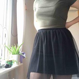 Svart tyll kjol från topshop 💣📸🕷