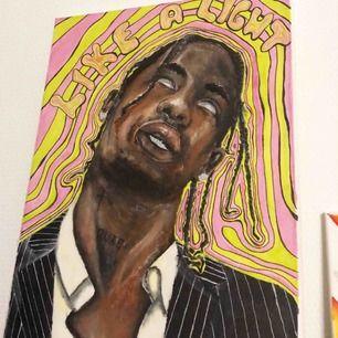 Kollar mest om det finns något intresse för mina målningar. Kan även göra efter förfrågan givetvis, och inte bara rappare. :)