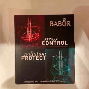 BARBORS två fantastiska serum: stress control och pollution protect! Ej använd. Köpare står för frakt.