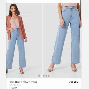 Mid Rise relaxed jeans från nakd, storlek 36. Använda fåtal gånger, storlek 36. Frakt 59kr .
