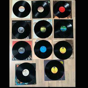 Säljer nu dessa vinylskivor för 175kr/st! Det finns Elton John  KISS  Mariah Carey Pointer Sisters  John Lennon  British Lions WHAM!  Billy Ocean  Madonna (like a virgin) Madonna  James Bond