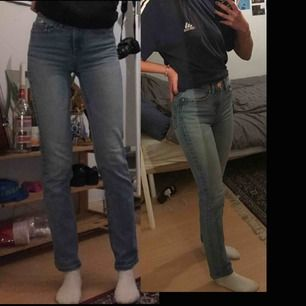 """Jeans från Cubus i modellen """"straight Sarah"""". Bra skick. Kontakta mig för fler bilder :)"""