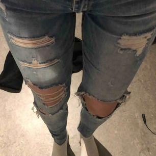 Jätte fina slitna jeans