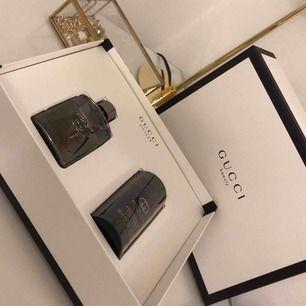 Äkta Gucci, box medföljer Parfym & Deodrant Aldrig använt eller tagit ut produkterna ur boxen
