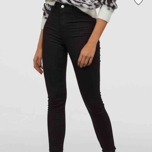 Snygga högmidjade jeans från h&m Endast använda en gång