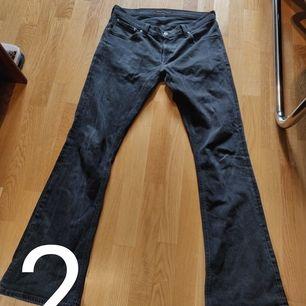 Nudie Jeans co Flares 70-tals inspirerade unisex W34L34, möts annars står köparen för frakten