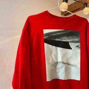 Säljer denna jätte coola tröjan från H&M. Den är köpt i Ungern och är i ett bra skick. Köparen står för frakten💕