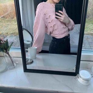 Superfin rosa stickad tröja oanvänd men utan prislapp💘  (Frakt tillkommer)