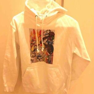 Tce , thecoolelephant hoodie i strl XS. Vit och superfin!