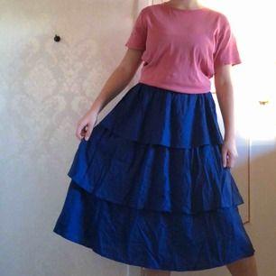 Blå volangkjol från NAKD. Perfekt till sommaren! 🌸