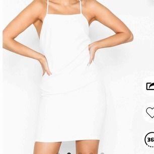 Helt ny klänning från Nelly, beställde hem den men den var förliten, lapp kvar Möts upp i Uppsala annars står köparen för frakt