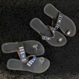 Handgjorda sandaler från Kenya .. 150k st