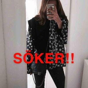 Söker denna jacka från Zara i XS/S. Skriv till mig om du vill sälja den till mig. ❤️❤️❤️❤️