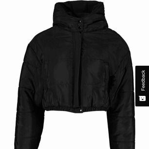 Puffer jacket från boohoo, oanvänd.