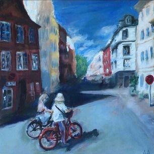 Intressekoll! Vill se om det finns något intresse av mina målningar, har flera men kan också måla något på beställning man kan köpa! :) Målar i olja