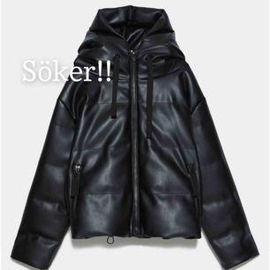 Söker denna jacka från Zara! I storlek XS eller S. Skriv till mig om du säljer eller vet någon som gör det!😍