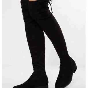 Overknee boots storlek 37 Säljes pga små storlek