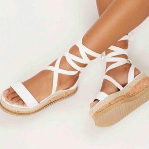 As snygga sandaler från PLT, säljer pga för stora för mig! som en 39 i storlek