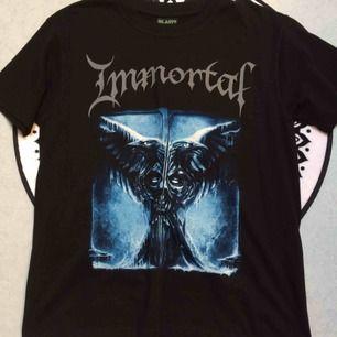Oanvänd Immortal tshirt i stl M.. frakt: 42 kr