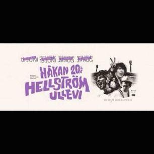 säljer en biljett till håkan hellströms 20års konsert den 29 augusti 2020. biljetterna är slutsålda, buda från 895kr :)