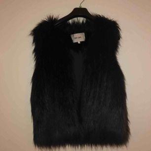 Fake fur vest. Perfect condition!