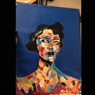 Målat med akrylfärger 💕