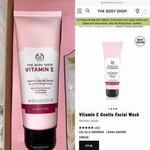 Oöppnad facial wash från The Body Shop! Köptes för en månad sedan och legat i kartongen sen dess💕 Nypris: 145:-