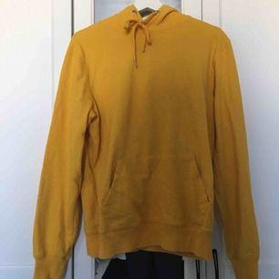 Gul hoodie från Lager157's herravdelning i storlek M. Använd kanske 5 gånger!