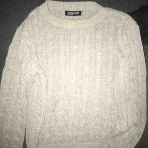 American apparel ribbstickad sweatshirt
