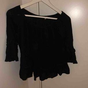 svart tröja aldrig använd storlek S