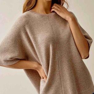 Världens mysigaste tröja från Soft Goat i 100% cashmere. Använd två gånger, alla lappar och kartong finns kvar. Storlek S. Ordinarie pris: 1900kr.